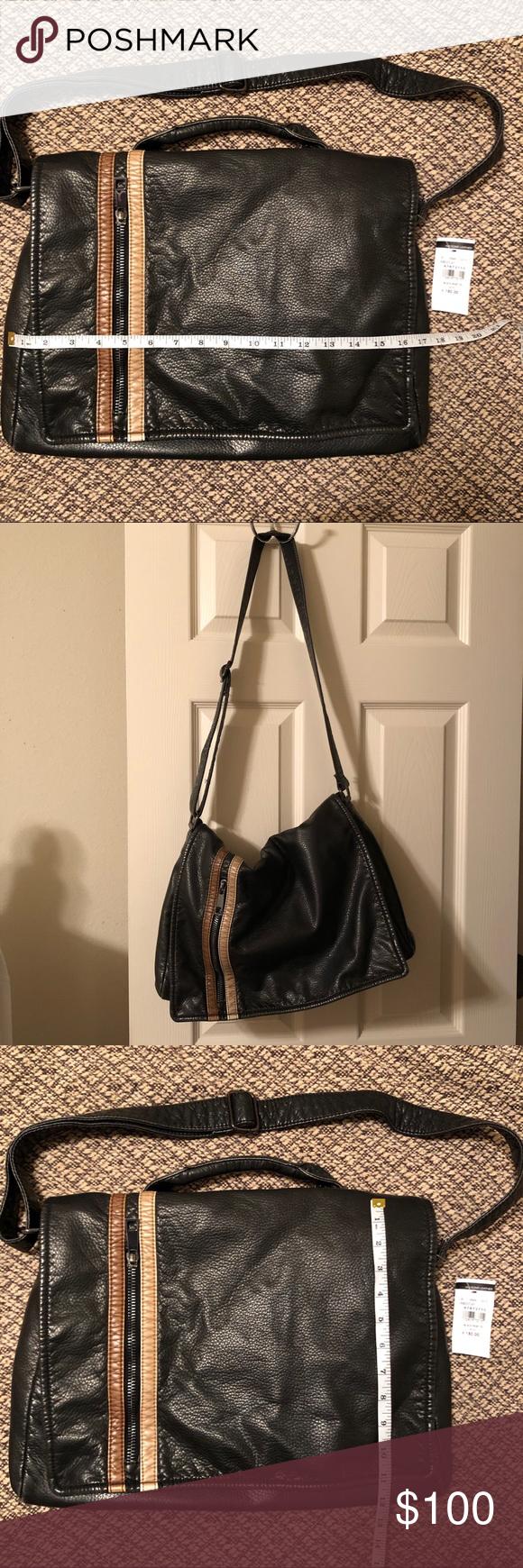 Wilson's Leather Messenger Bag NWT A really cool bag ! NWT