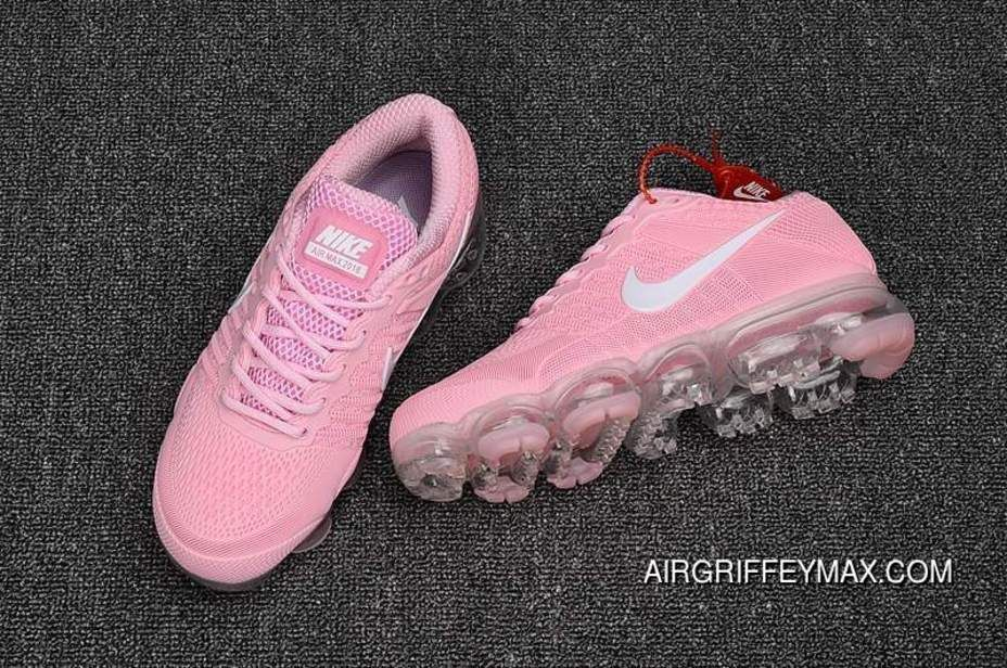 99d973868a639 Buy Girls Exclusive Nike Air Vapormax Flyknit Pink White Free Shipping
