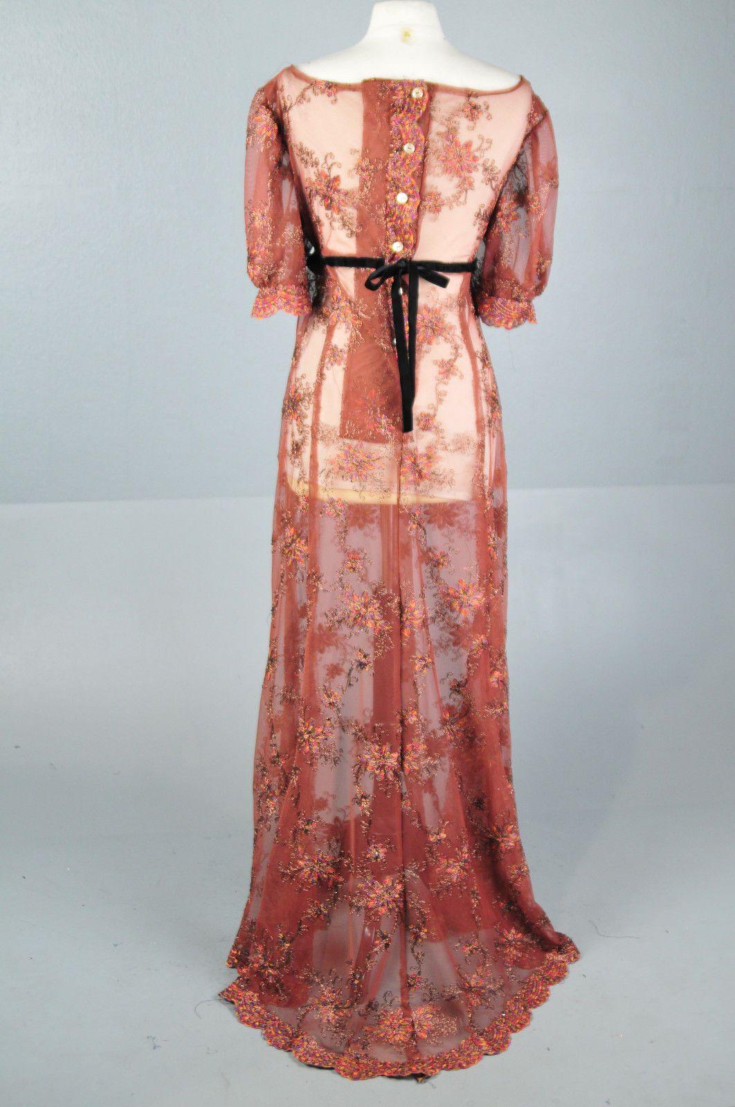 Jane Austen Regency VAMPIRE Titanic Ball Gown costume Dress Plus ...