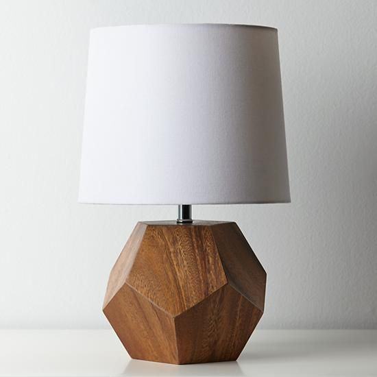 Kids And Baby Store Crate And Kids Crate And Barrel Table Lamp Wood Wood Lamp Base Geometric Lamp