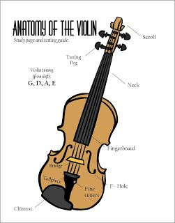 Teaching Tools: Beat Division Worksheets and Violin Anatomy Poster