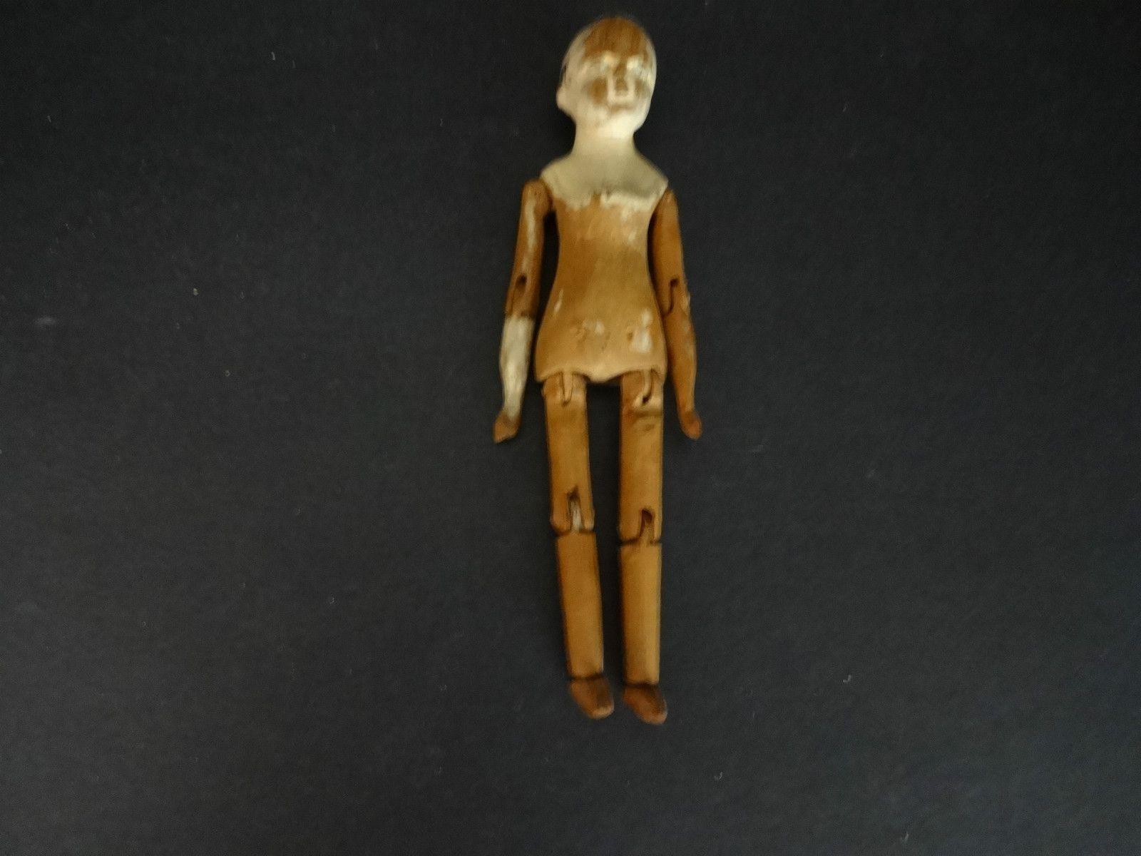 Early 8 inch Peg Wooden Doll | eBay