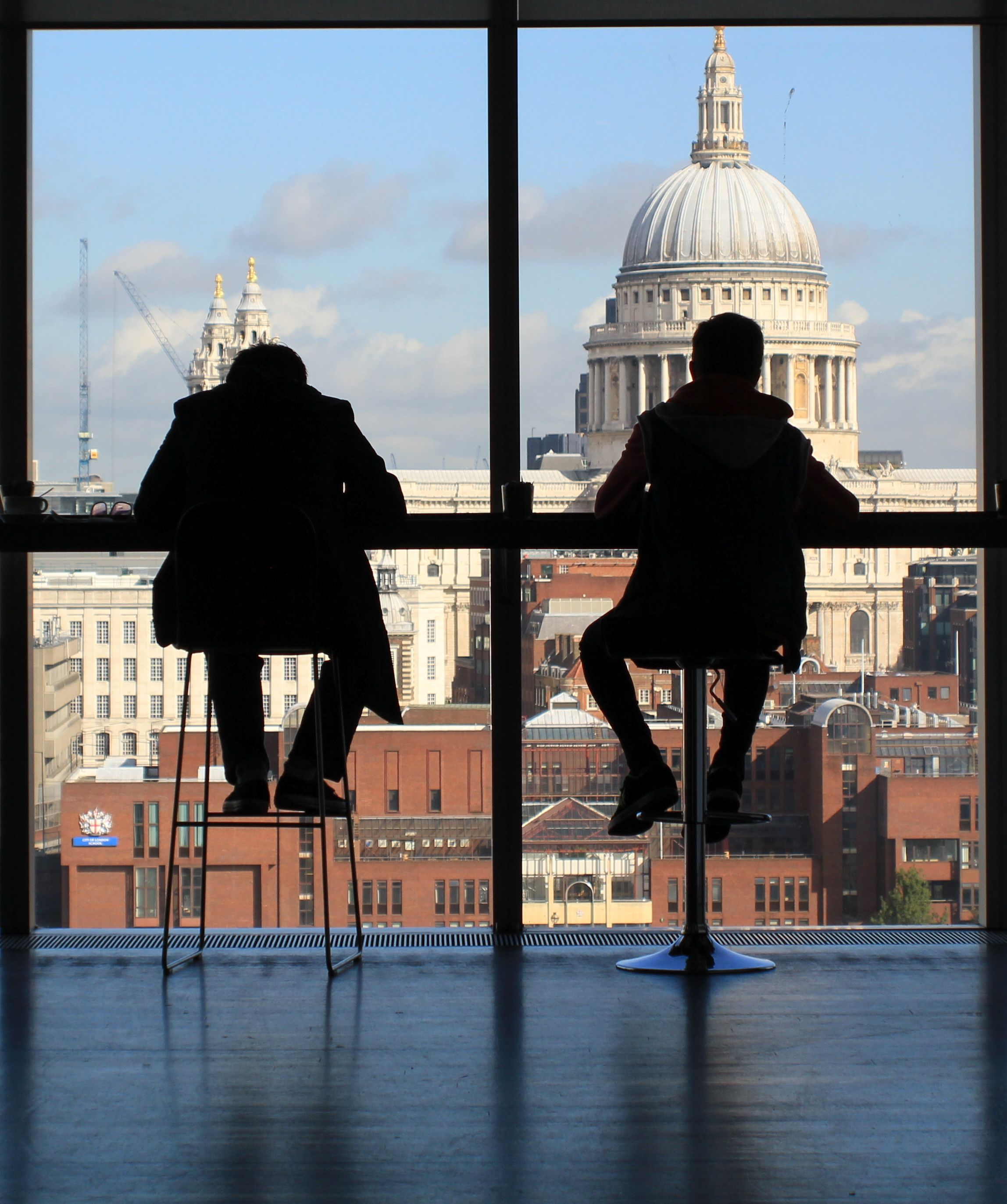 View from the Tate Modern in London