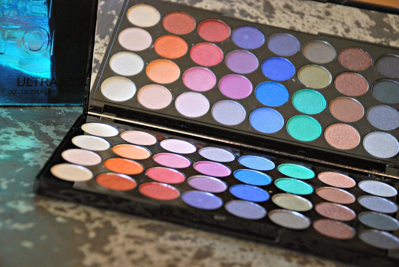 Makeup Revolution mermaids forever palette Paletas