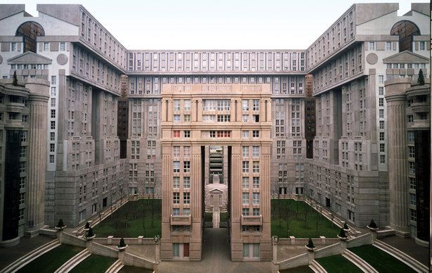 Les Espaces D Abraxas Ricardo Bofill Taller De Arquitectura Archinect Noisy Le Grand Architecture Ricardo Bofill