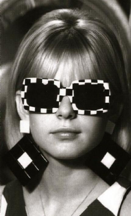 France Gall con Checkered Vintage
