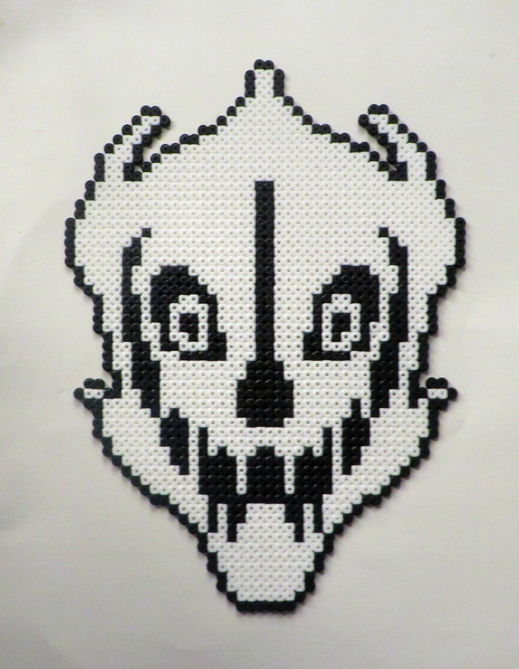 Pixel Art Undertale Gaster