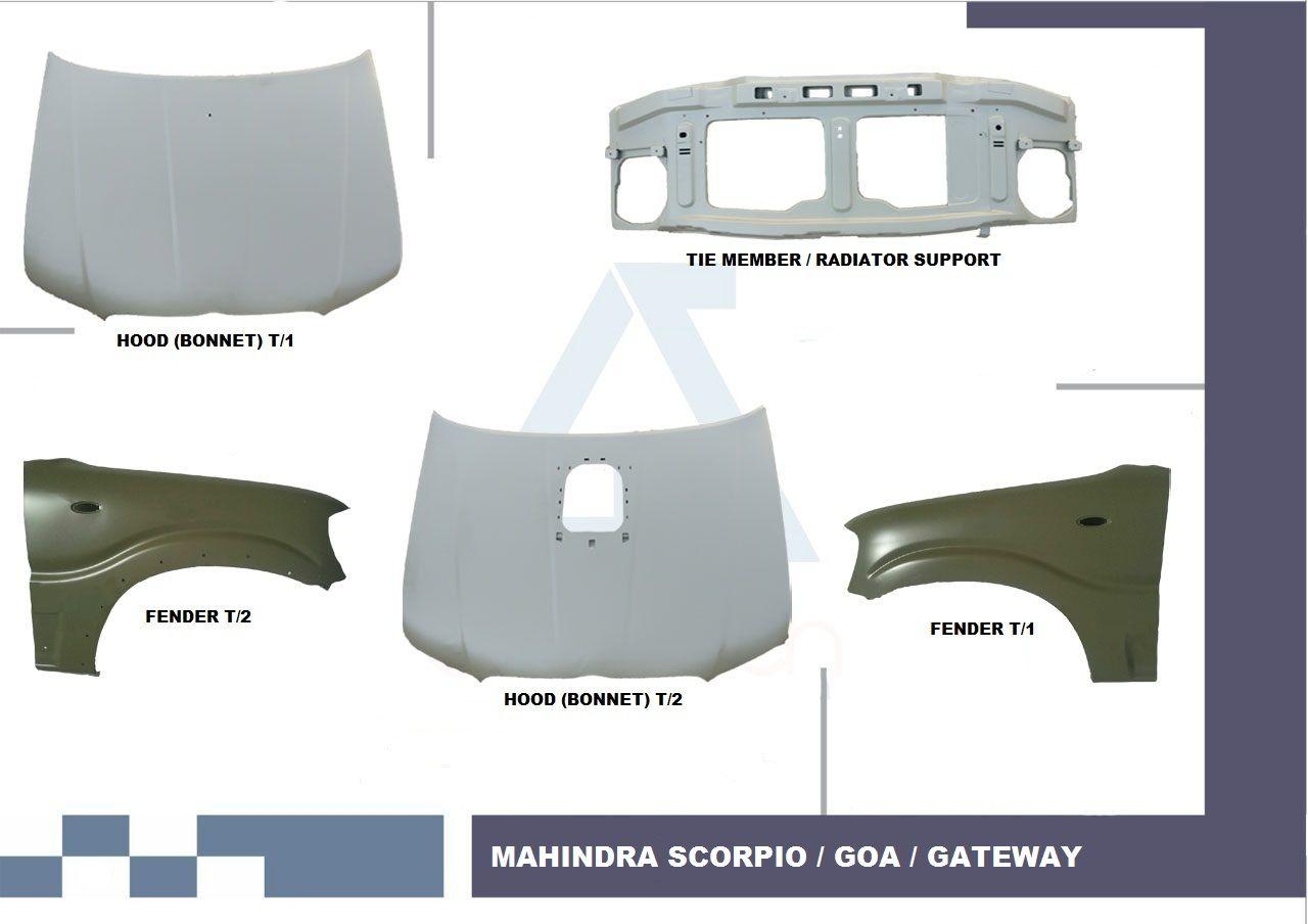 Mahindra Scorpio Body Parts Mahindra Scorpio Spare Parts Mahindra