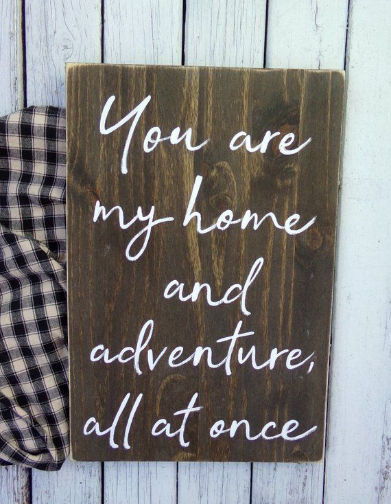 You Are My Home and Adventure All At Once Sign, Bedroom Sign, Modern Farmhouse Decor, Farmhouse Bedr #wallcollage