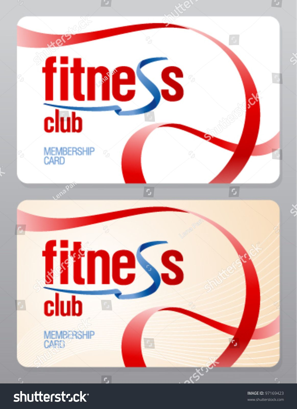 Gym Membership Images Stock Photos Vectors Shutterstock Throughout Gym Membership Card Template Be Gym Membership Card Membership Card Business Template