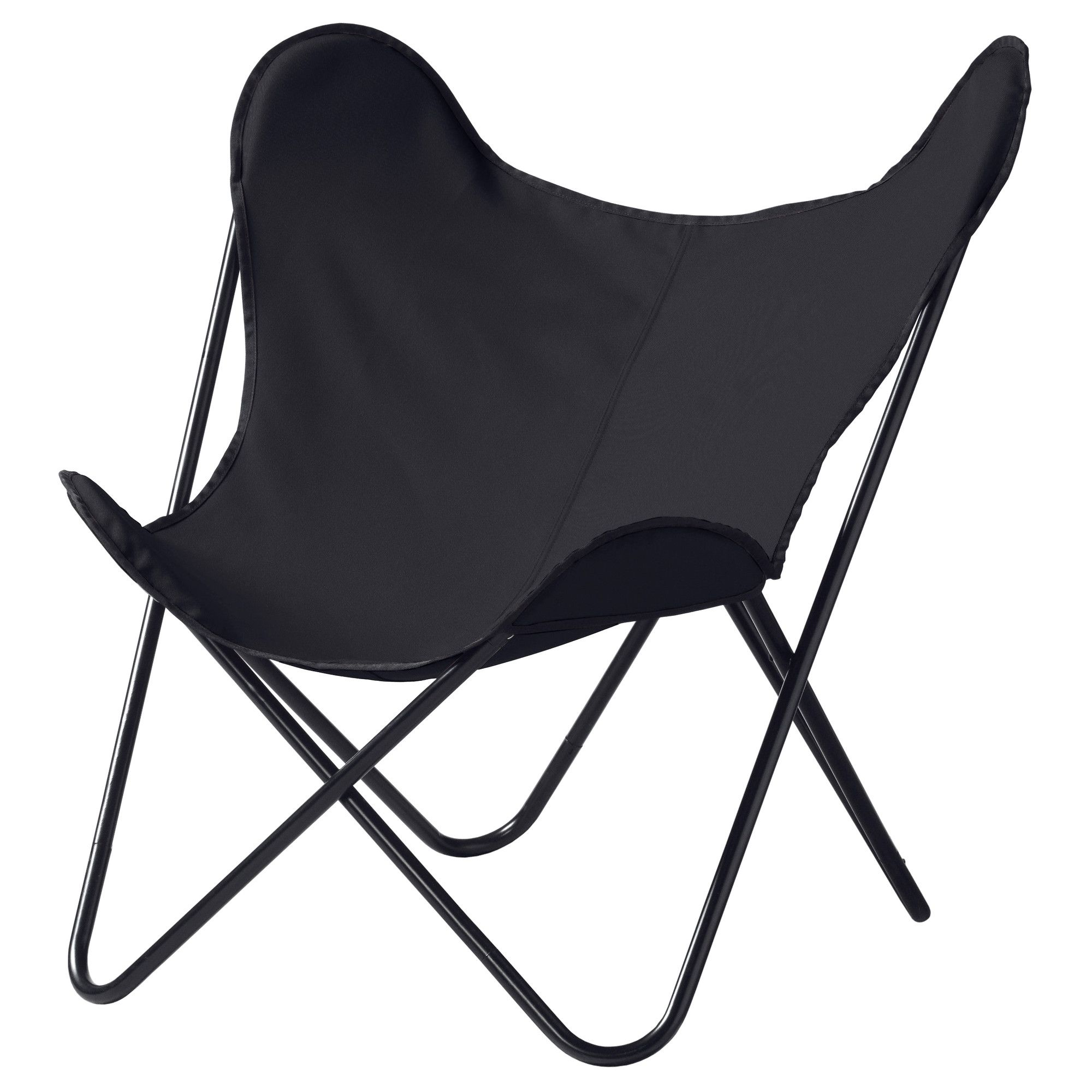 Butterfly chair black - Ikea Kl Ppa Easy Chair Black The Cover Is Easy To Keep Clean As It Is Removable And Can Be Washed The Armchair Is Lightweight And Easy To Move If You