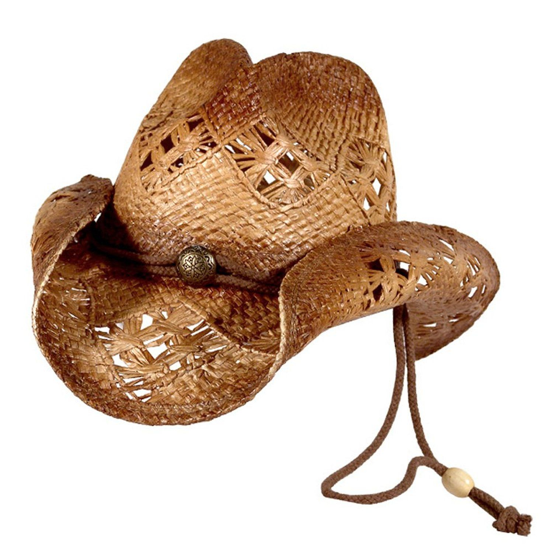 66ae8c80a4 Sonoma - Raffia Straw Cowboy Hat at Amazon Women s Clothing store ...