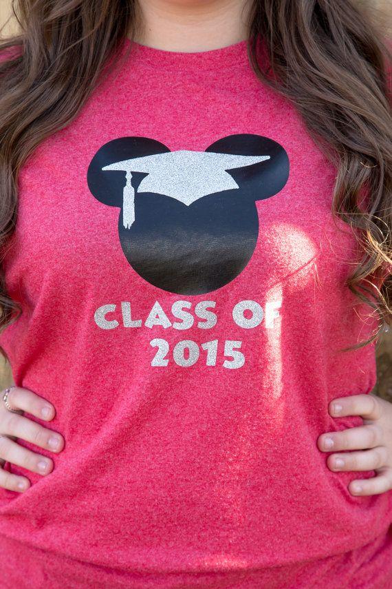 07f57bb34e Items similar to Mickey Graduation Cap Tee -