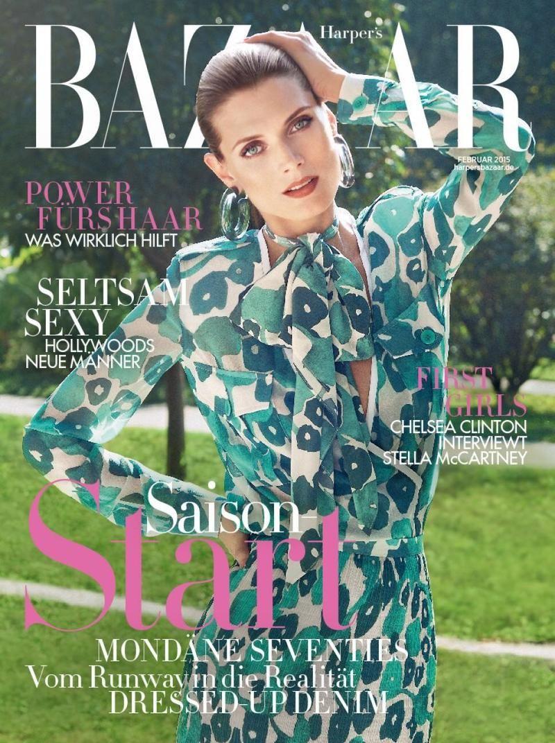 Malgosia Bela by Sofia Sanchez and Mauro Mongiello for Harper's Bazaar Germany February 2015