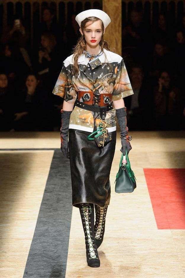 494b0e4657 Semana de la Moda de Milán O/I 2016-2017: fotos de los modelos ...
