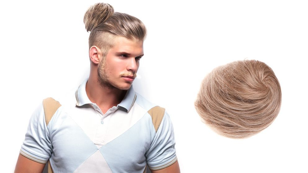 The Story Behind Groupon S Clip In Man Buns That Caused An Internet Frenzy With Images Man Bun Hairstyles