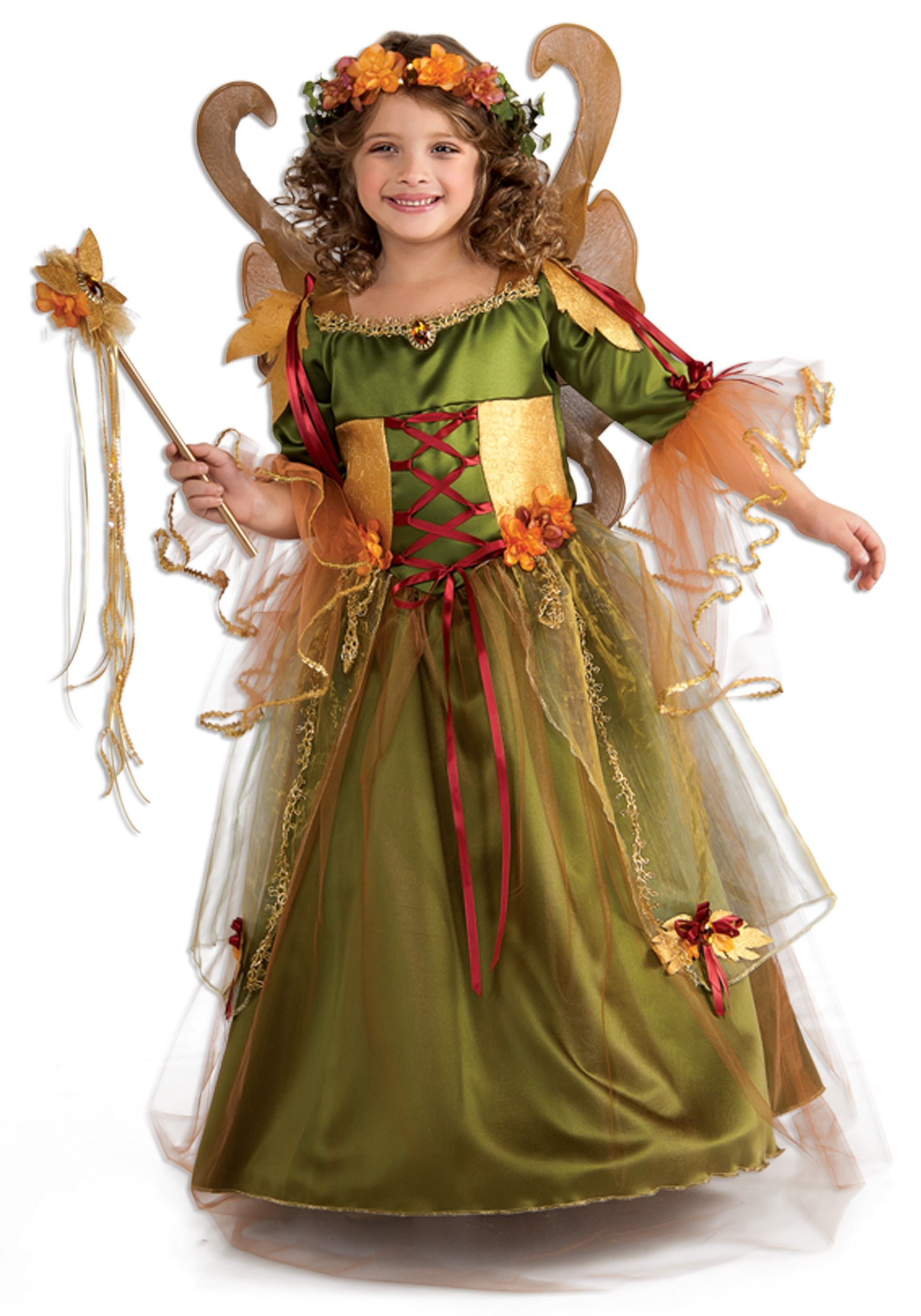 Girls Forest Fairy Queen Costume | Halloween fairy, Fairy costumes ...