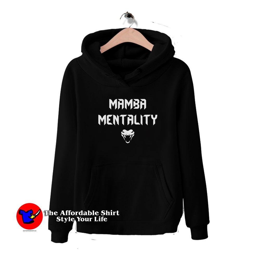 Get Buy Kobe Bryant Mamba Mentality Hoodie - On Sale ...