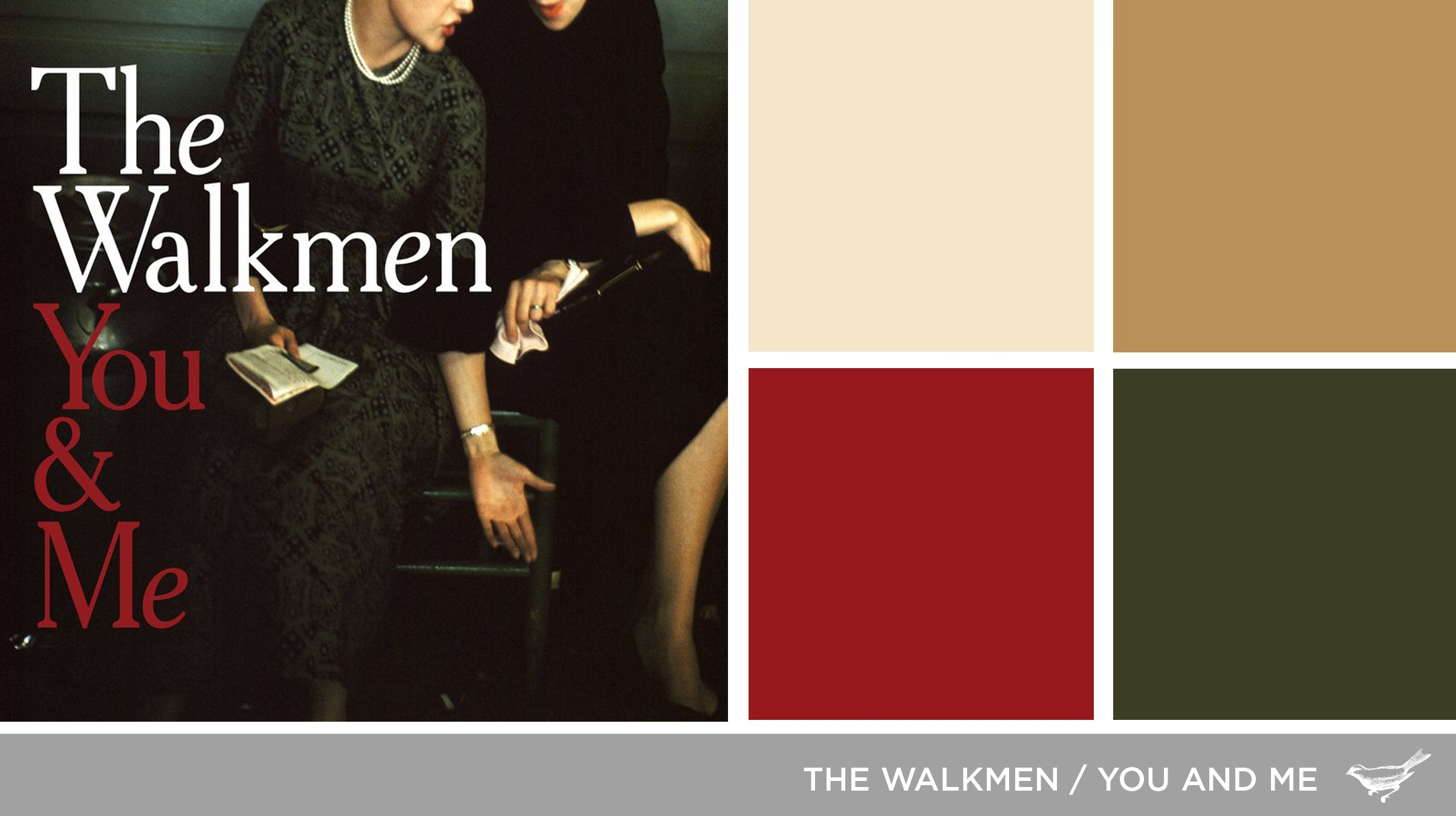 Sound In Color The Walkmen You And Me You And I Album Art Color
