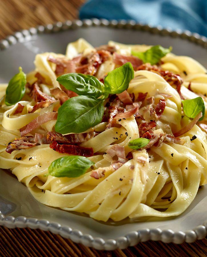 Makaron Z Suszonymi Pomidorami I Sosem Mascarpone Przepis Recipe Savoury Food Cooking Recipes Healthy Dinner Recipes