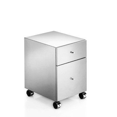 "Linea 20"" x 13.8"" Runner Storage Cabinet in Stainless Steel by WS Bath Collections. $645.00. 2 Drawers Unit on Wheels. Stainless Steel. Product Material: Stainless Steel. Finish/Color: Silver. Made in Italy. Runner 5438 Features: -Storage cabinet.-Made in Italy. Construction: -Stainless steel construction. Specifications: -With 2 drawers. Dimensions: -Overall dimensions: 20'' H x 13.8'' W x 16.5'' D. Collection: -Linea collection. Warranty: -Manufacturer provides One Year ..."
