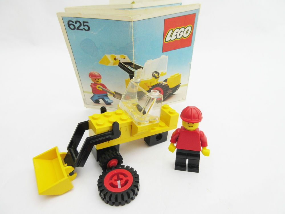 499 Lego Instructions Only 625 Town With Spare Parts Vintage Lego