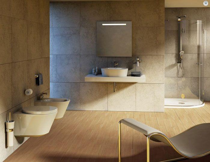 Durchlauferhitzer Badezimmer ~ Handtuchhalter stange modern rustikales design badezimmer keramik