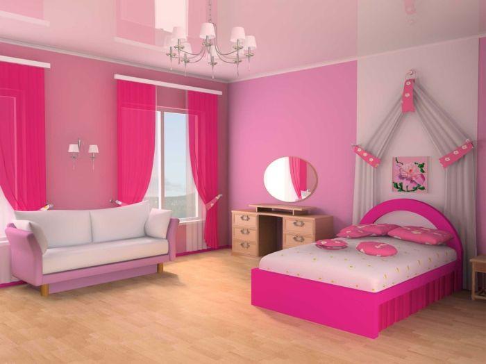 barbie haus bild rosa   chambre d'enfant   pinterest   barbie, Schlafzimmer
