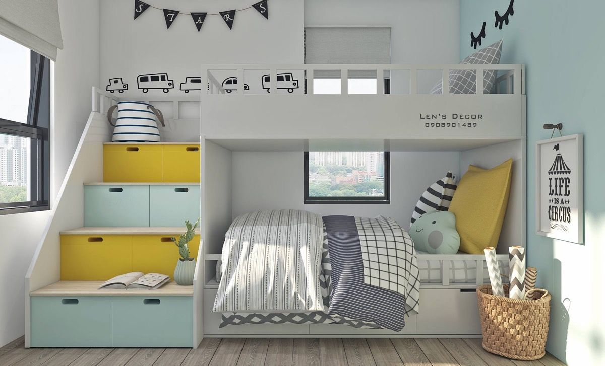Yellow Kids Rooms How To Use Combine Bright Decor Yellow