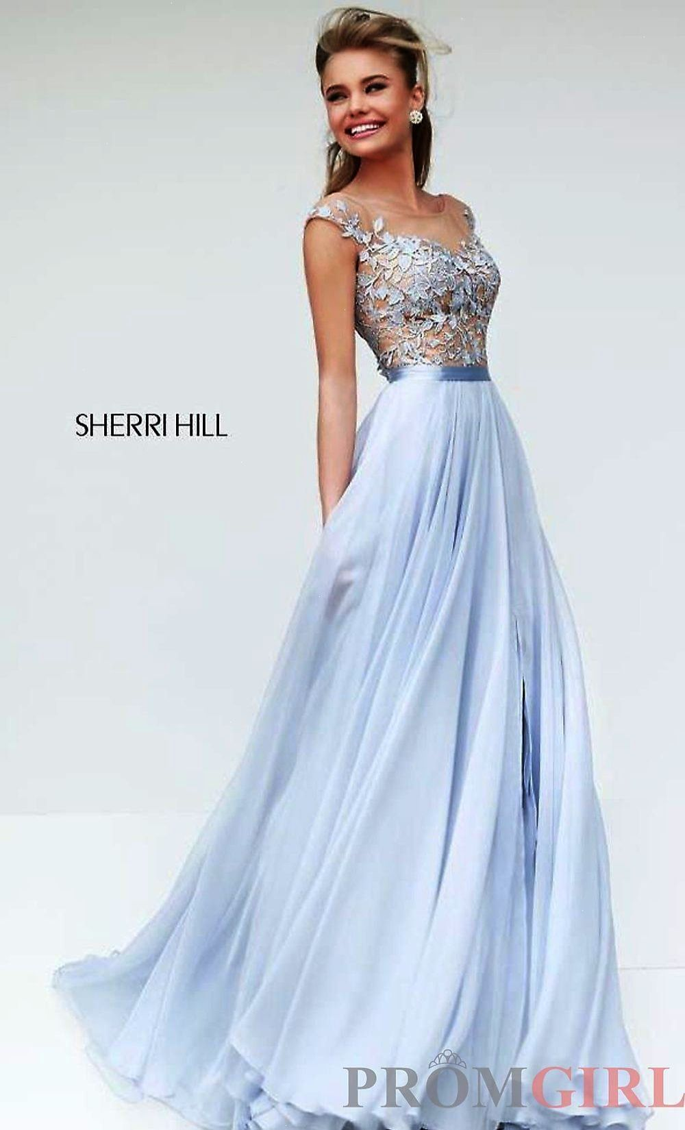 Designer Evening Gowns for Prom Sherri Hill Prom Dress- PromGirl ...