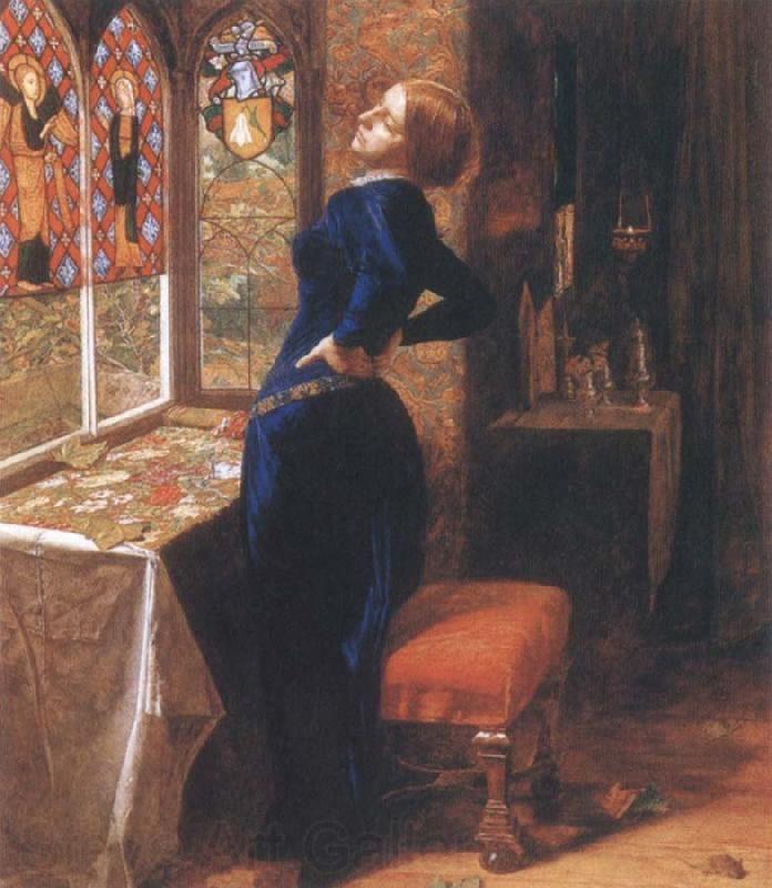 Sir John Everett Millais ~ Mariana    intofineart.com