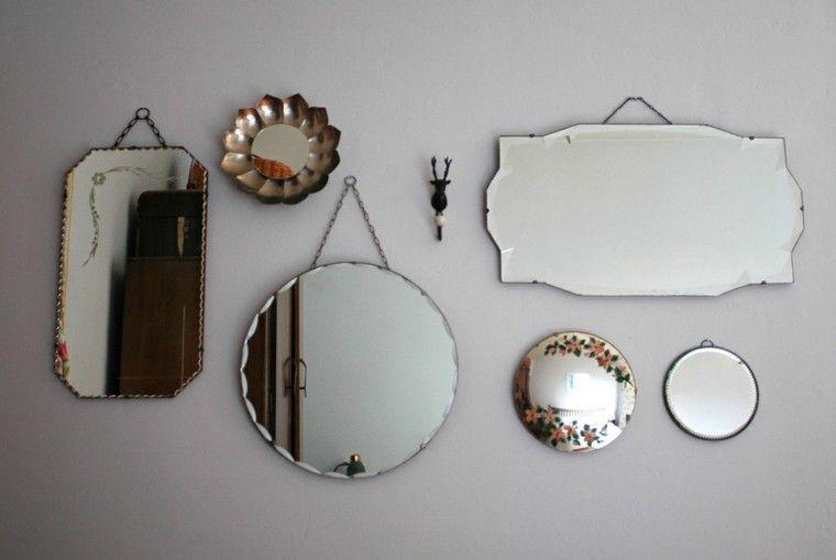 Espejos vintage de estilo romntico ms de 30 diseos Decorar