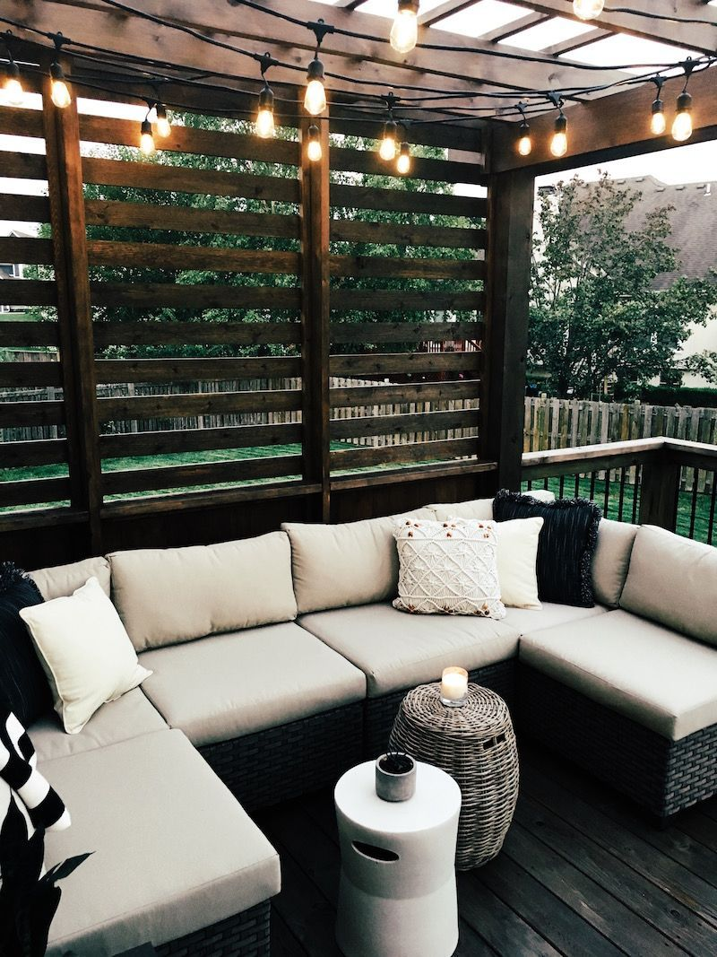 Our New Cedar Deck - Wendy Correen Smith: Our New Cedar Deck; sherwin williams super deck charwood, outdoor spaces, deck  -