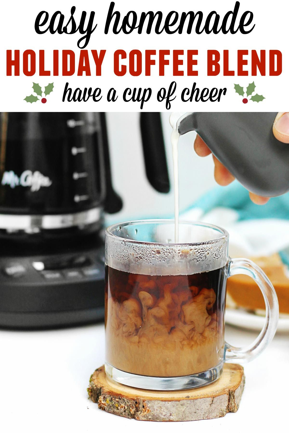 Homemade holiday coffee blend Recipe Blended coffee