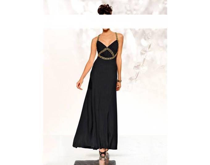 Abendkleid heine schwarz