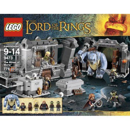 Toys Mines Of Moria Lord Of The Rings Lego
