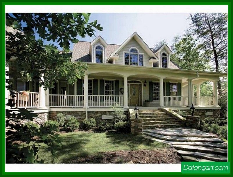 Country House Plans With Porches One Story One Story