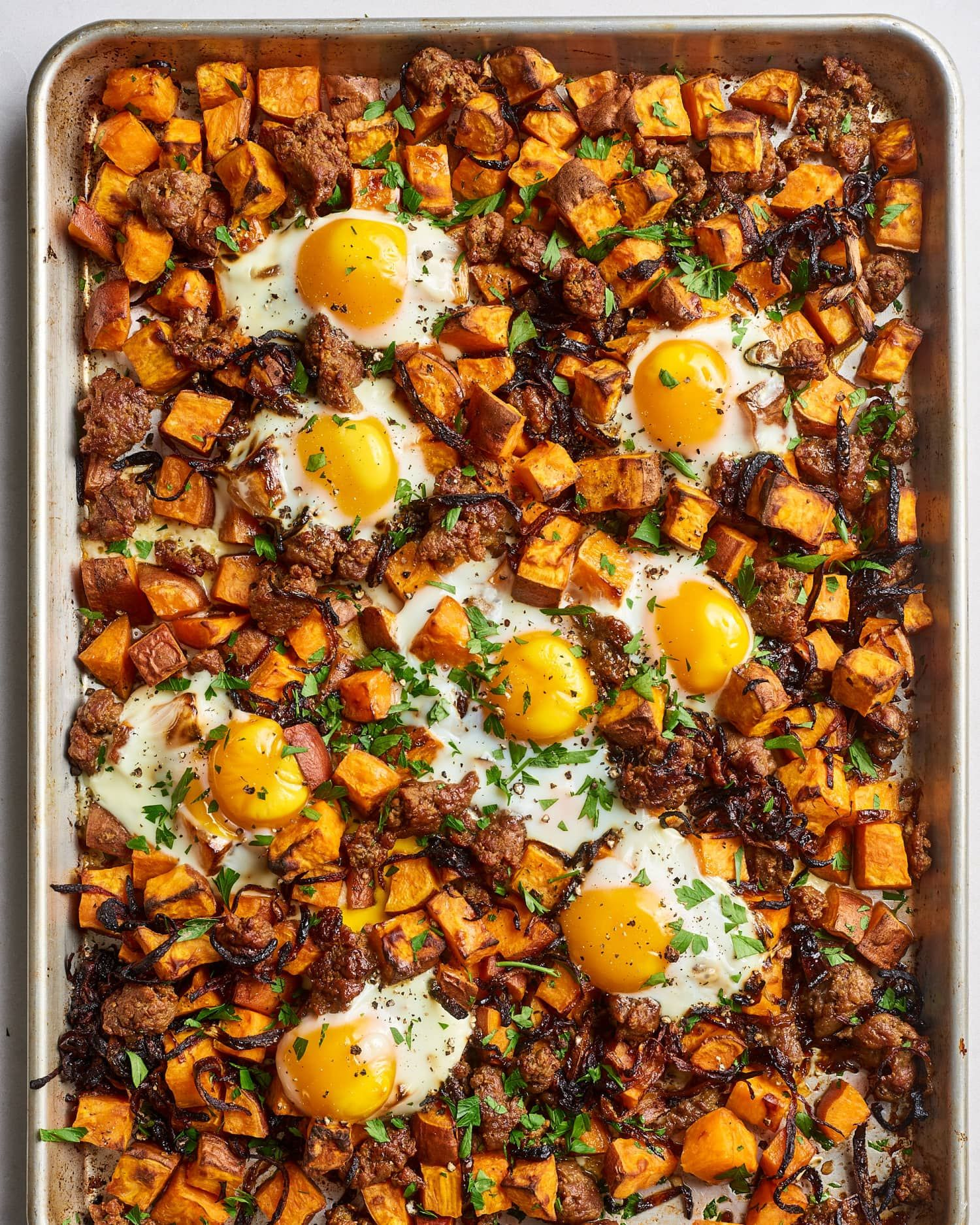 Recipe Sweet Potato Hash With Sausage Eggs Recipe Sweet Potato Hash Egg Recipes For Breakfast Potato Hash