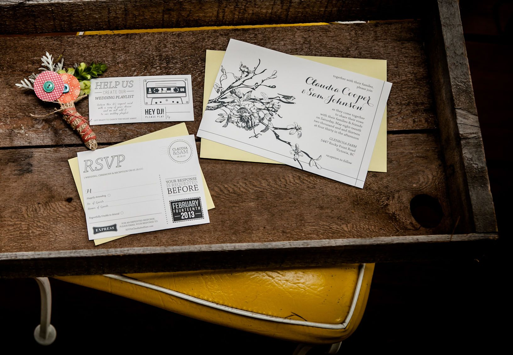 Venue Glenrosa Farm Bed and Breakfast /Photography Lisa