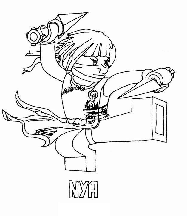 Lego Ninjago Coloring Pages Ninjago Coloring Pages Coloring
