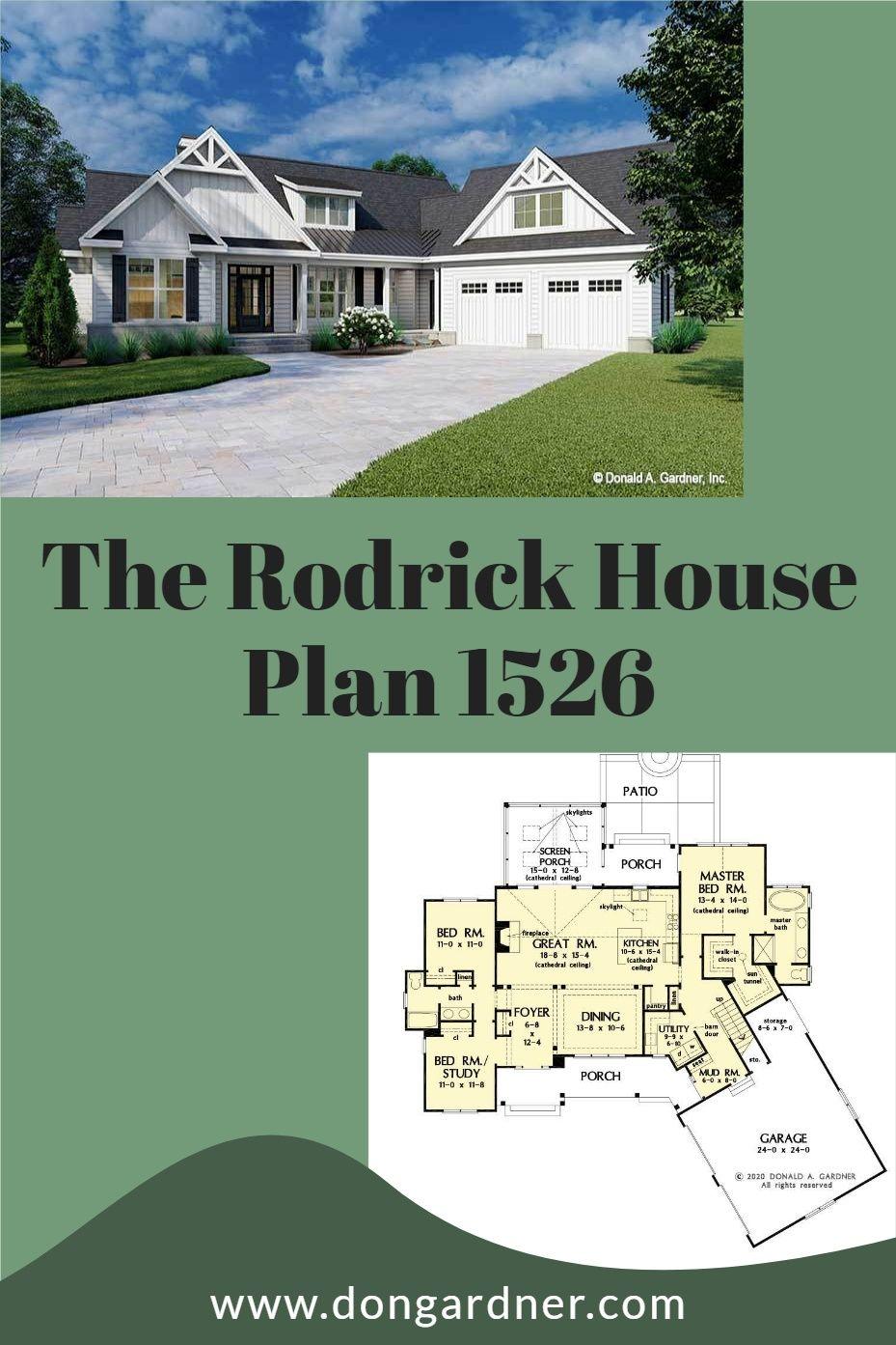 The Rodrick House Plan 1526