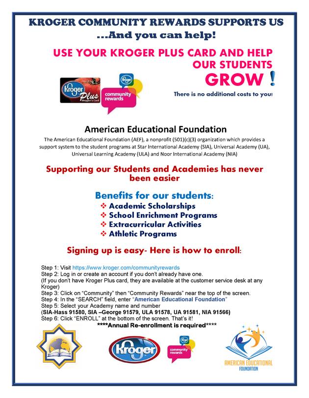 Support Your School When You Shop At Kroger Enrichment Programs