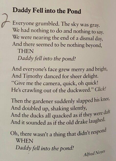 alfred noyes poems