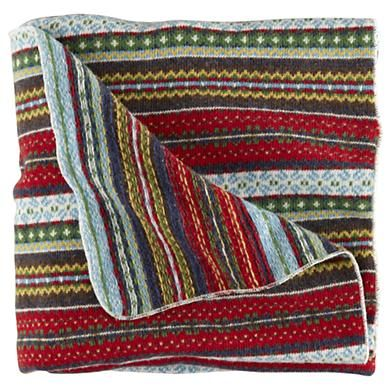 Fair Isle blanket from Land of Nod | Things for my Home ...