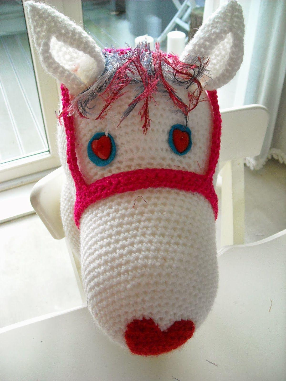 Haken En Zo Wat Meer Haakpatroon Stokpaardje Haken Crochet