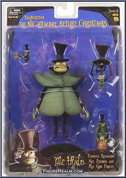 Mr Hyde Action Figure Neca Nightmare Before Christmas Characters Nightmare Before Christmas Jack And Sally Hyde is shown looking for jack skellington in a pumpkin patch when he leaves. mr hyde action figure neca nightmare