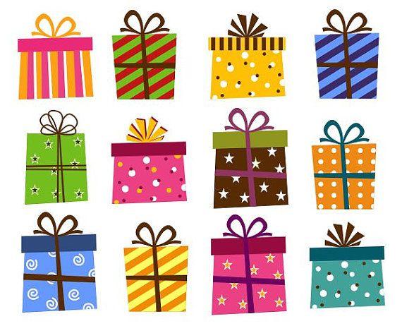 Gift box clipart