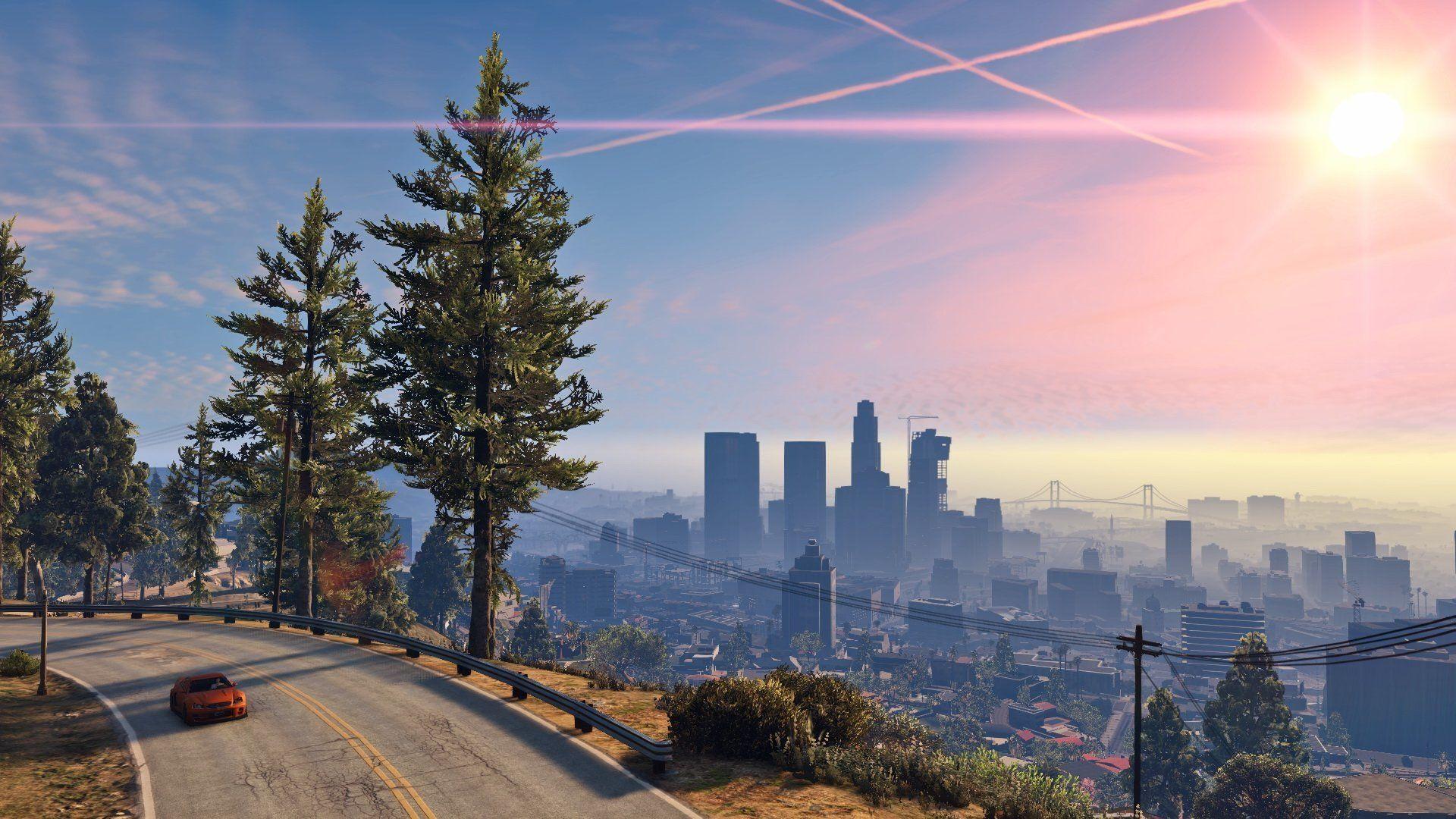 Grand Theft Auto V HD Desktop Wallpaper High Definition Mobile