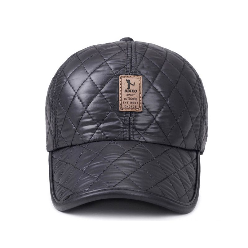 19af0c59d0e  AETRENDS  2017 Winter Hats with Ears Baseball Cap 5 Panel Bone Warm Woolen  Thick