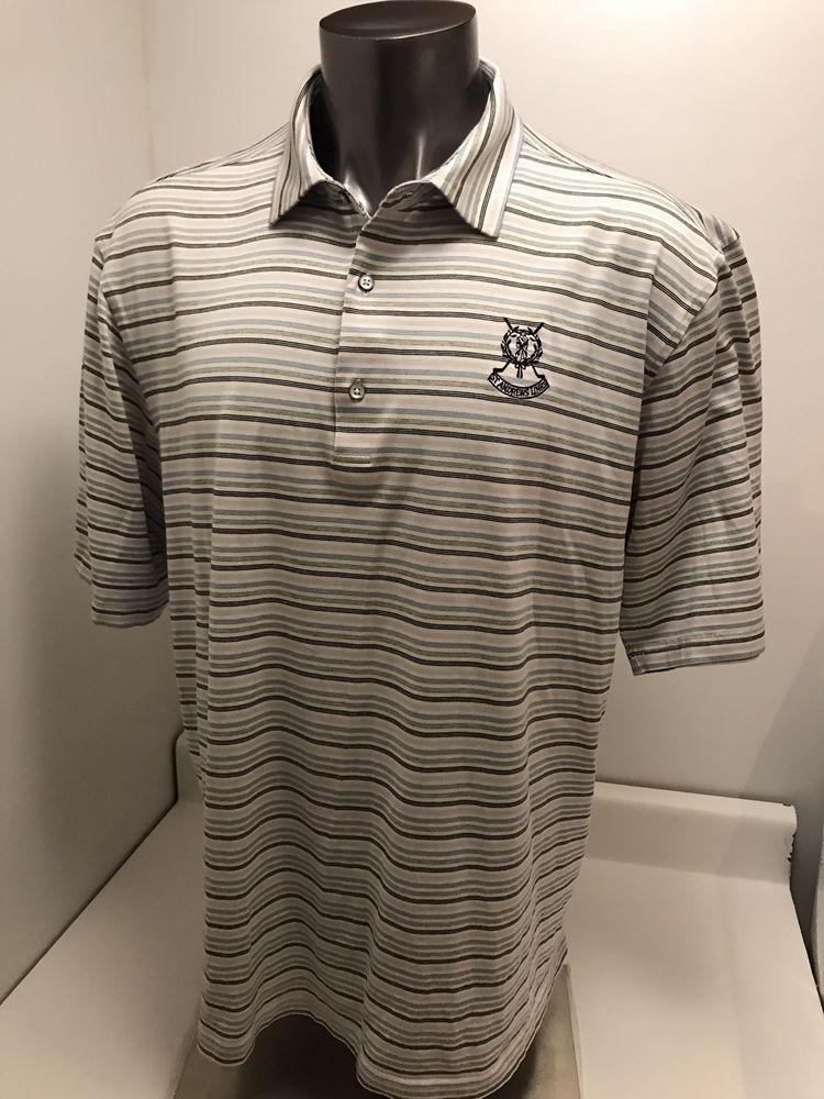 71417f2e St. Andrews Links Scotland PGA Tour Golf Polo Shirt By Fairway&GreeneMens  2XL #fashion #clothing #shoes #accessories #mensclothing #shirts (ebay link)